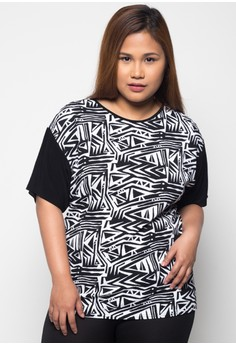Short Sleeves-Plus Size Tops