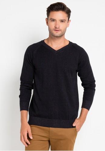 Tolliver black Knitwear Slub TO631AA0VOZ0ID_1