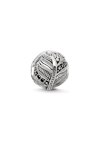 THOMAS SABO silver Karma Bead Feather 0C218ACC25912EGS_1