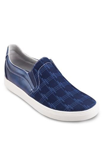 印花仿皮拼接懶人鞋, 鞋尖沙咀 esprit, 鞋