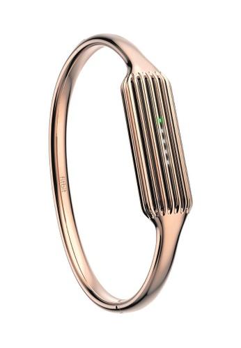 Fitbit Pink Flex 2 Accessory Bangle Rose Gold Fi132ac04rodsg 1