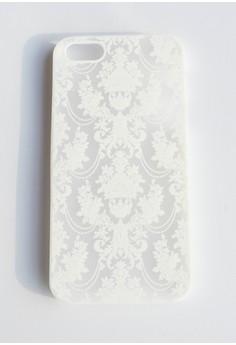 Royale Damask Hard Transparent Case for iPhone 5/5s