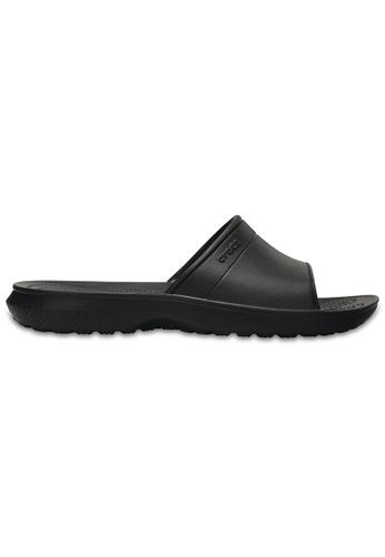 Crocs black Classic Slide Blk CR883SH0RCDQMY_1