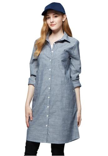 1535ac000d9e1 Buy Mamaway Chambray Maternity & Nursing Shirt Dress Online   ZALORA  Malaysia