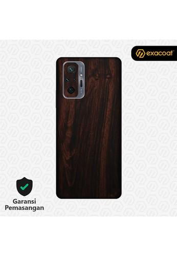 Exacoat Redmi Note 10 / 10 Pro Skins Wood Series - Wood Mahogany 6C1C6ESB46A939GS_1
