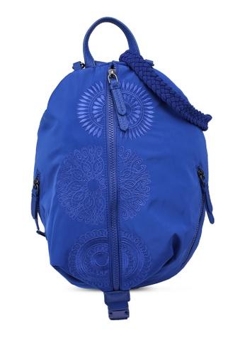 Desigual blue Mandalas Backpack 68CB0AC5050141GS_1