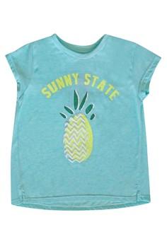 Embossed Pineapple T-Shirt