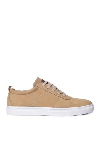 Toods Footwear brown Humblepaps Elua Sneakers Sand Brown 7113FSH8072821GS_1