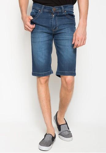 2Nd Red Short Pant Denim Straight 151626