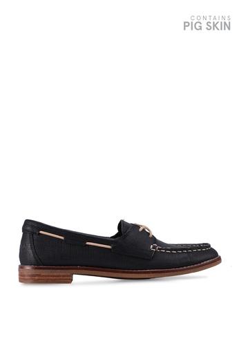 SPERRY black Seaport Boat Shoes 75CABSH855C8ADGS_1