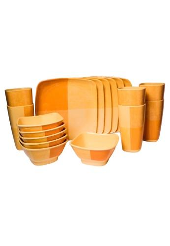 Melawares orange 18pc Orange Starter Set F7435HL8AB92DCGS_1