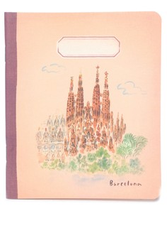 L'après-midi Mini Notebook - Barcelona