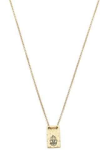 Dear Addison gold The Protector Necklace 89ECBACBEA3ACBGS_1