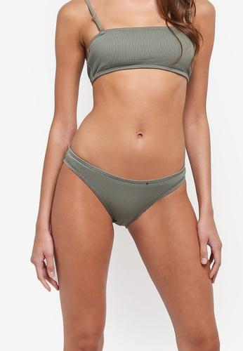 Cotton On Body green Rib Seamless Full Bikini Bottom B716DUS86F8718GS_1
