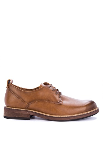 Call It Spring brown Ferade Shoes 54428SHF4B023EGS_1
