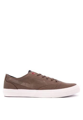 SONNIX brown Goblin Q417 Men'S Lace Up Sneaker Shoes SO490SH0K3NJPH_1