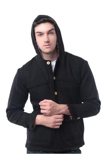 Crows Denim - Hoodie Jacket 216CROWS1MONTGOMERY