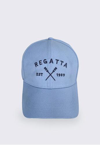 REGATTA blue Graphic Baseball Cap 94701AC711D4B8GS_1