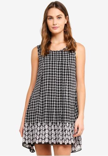 Max Studio multi Woven Sleeveless Dress E8EA6AA5155278GS_1