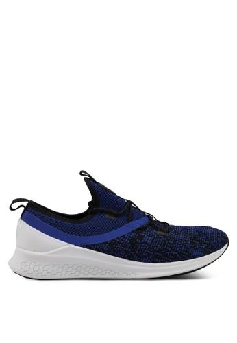New Balance blue LAZR Fresh Foam Performance Running Shoes NE323SH0SVCLMY_1