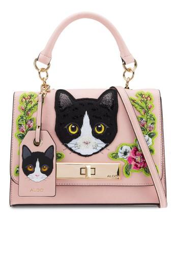 ALDO pink Corvara Top Handle Bag AL087AC09CIKMY_1