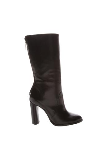 SCHUTZ black SCHUTZ Leather Long Boots - CATHERIN (BLACK) C5F1CSH2C429ACGS_1
