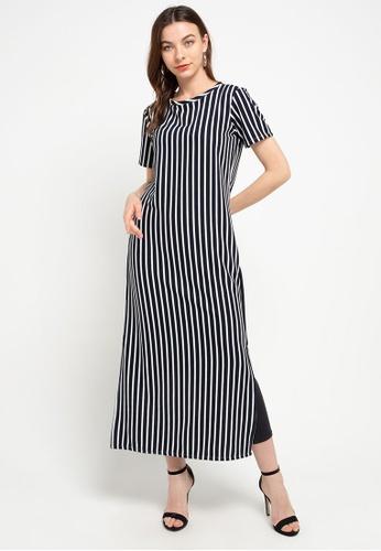 CHANIRA LA PAREZZA black and white Chanira Romelda Long dress AB5DBAAE0B2B13GS_1