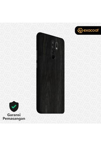 Exacoat Xiaomi Redmi 9 3M Skins Wood Series - Wood Ebony A0720ESAE587FEGS_1