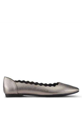 Bata silver Irsia Flats A4121SHBB85340GS_1