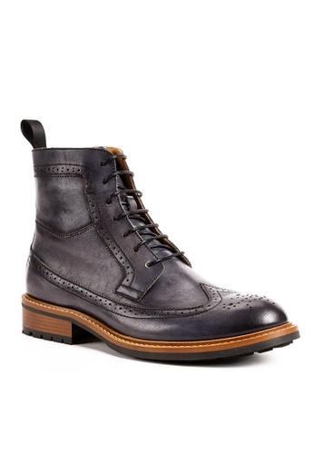 Twenty Eight Shoes Cognac真皮復古英倫短靴G5007-9 AD40DSHBABA86AGS_1