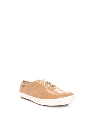 dfdd7a451a857 Shop Keds Champion Pretty Leather Sneakers Online on ZALORA Philippines
