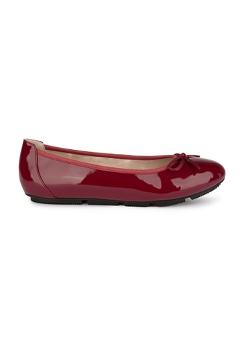 MAUD FRIZON red Patent Pu Ballerinas E160CSHEC7F569GS_1