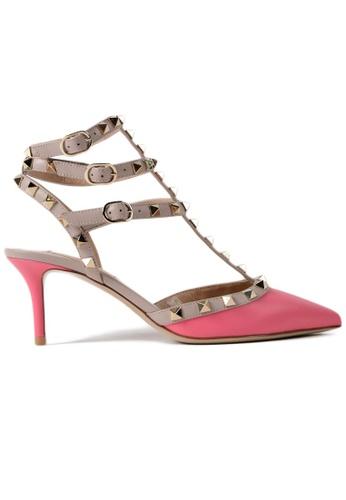 VALENTINO GARAVANI pink VALENTINO GARAVANI ROCKSTUD PUMPS FD799SHDC96DC1GS_1