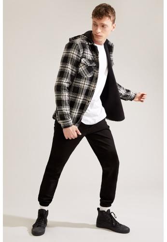 DeFacto black Slim Trousers 09AC7AA9530F6CGS_1