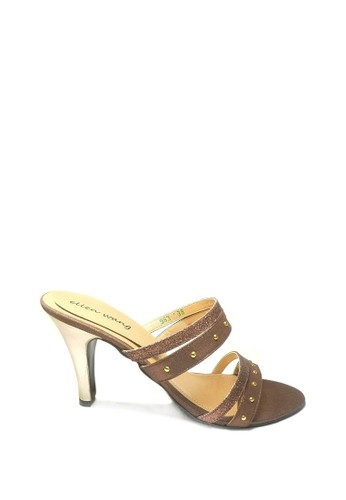 Beauty Shoes brown Beauty Shoes 983 Heels Brown 719DDSHC86BBABGS_1