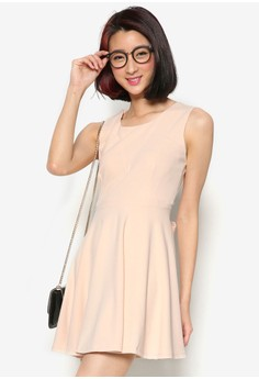 Classic Fit-Flare Dress