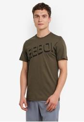Reebok green Foundation Cotton Series Graphic Tee RE691AA0RYAMMY_1