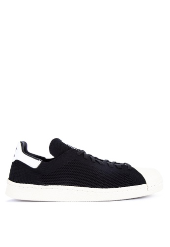 adidas black adidas originals superstar 80s primeknit shoes F922ASHCC36886GS_1