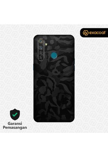 Exacoat Realme 5 / 5 Pro 3M Skins Camo Series - Black Camo 40F09ES5AB3991GS_1