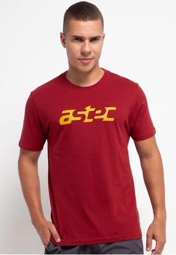 Astec red Chadd T-Shirts 1D2CCAA32A2E8CGS_1