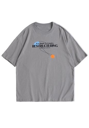 Twenty Eight Shoes Trend Printed Short T-shirt 1538S21 B3A51AAAE5F984GS_1