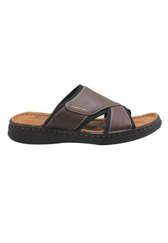 midzone brown Classic Sandals MI949SH46KJPMY_1
