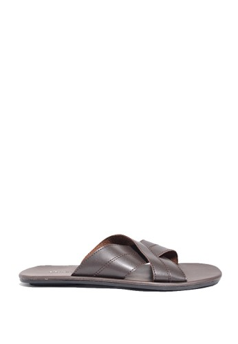 Dr. Kevin brown Dr. Kevin Mens Sandals 97188 - Brown DR982SH0US9KID_1