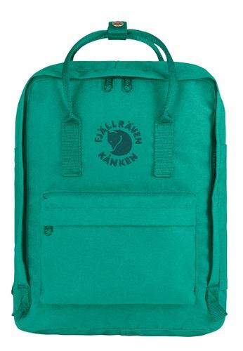 Fjallraven Kanken green Emerald Re Kanken  Backpack 12C1EAC6601E7DGS_1