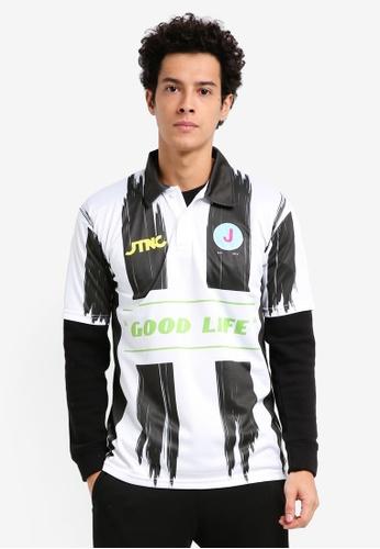 JTNC By Justin Chew multi JTNC Club Football Short Sleeve Jersey 867DCAA2EDAEFDGS_1