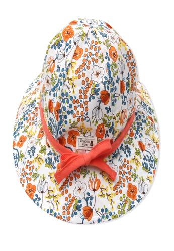 Organic mom multi Organic Cotton Dora Floral Hat 4635DKCA4D4DACGS_1