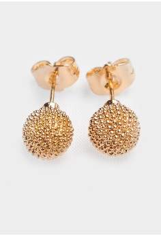 Spiked Ball Stud Earrings