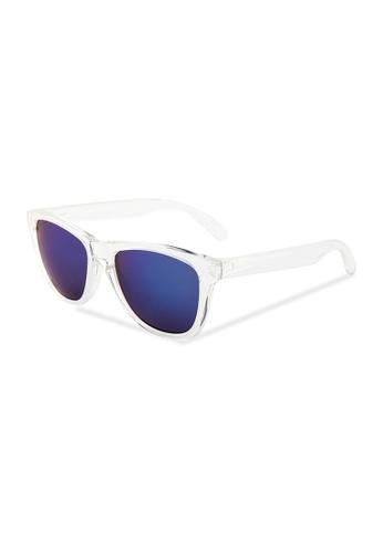 Quattrocento Eyewear Quattrocento Eyewear Italian Sunglasses with Blue Lenses Model Serra A429FGL0F78F97GS_1