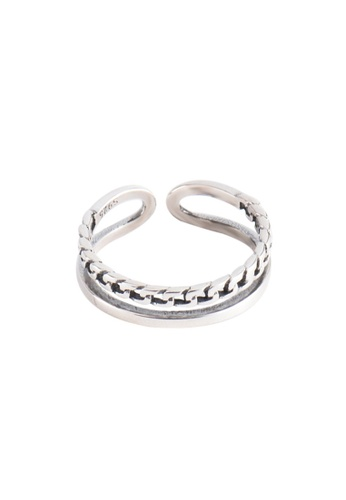 OrBeing white Premium S925 Sliver Geometric Ring 6F18EACC2791F3GS_1