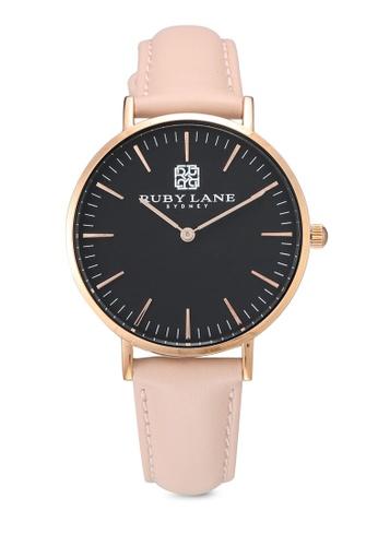 Ruby Lane 黑色 質感時尚36mm手錶 E387EACC06A181GS_1